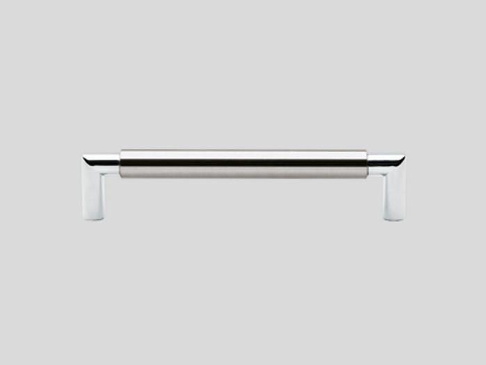 218 Металлическая ручка под нержавеющую сталь / хром, глянцевый