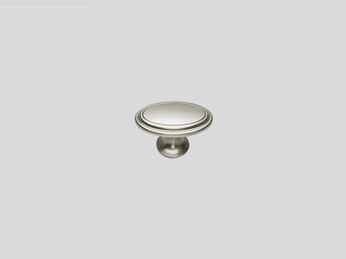 677 Металлическая ручка-кнопка под нержавеющую сталь