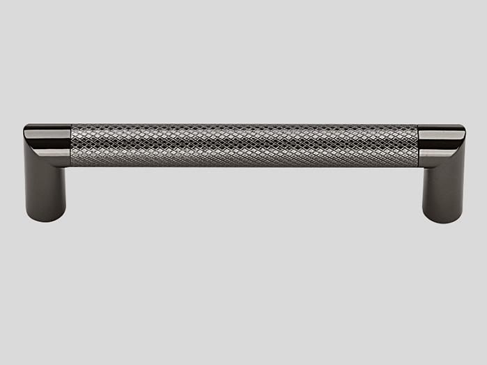 718 Металлическая ручка чёрный хром