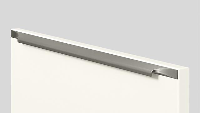 960 Навинчивающаяся ручка-профиль, Под нержавеющую сталь