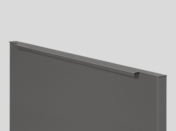 730 Ручка-планка, Серый шифер